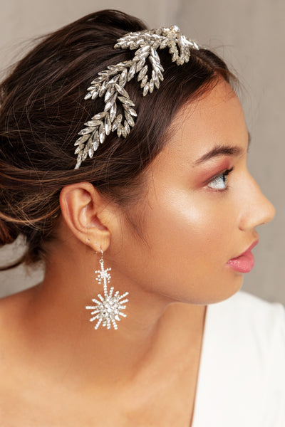 ILEANA EARRINGS- SILVER