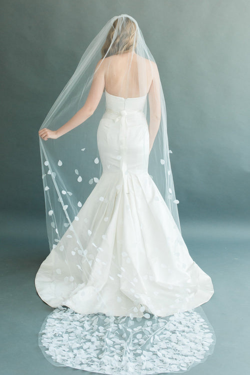 "PETAL VEIL 54"" WIDE- DIAMOND WHITE"