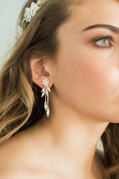 KENDAL EARRINGS - GOLD