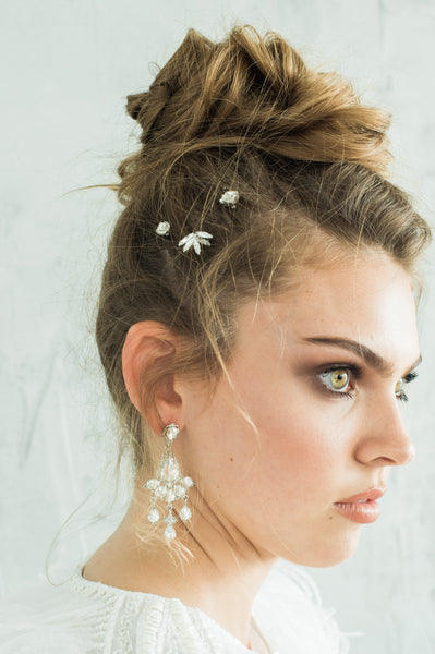 BECCA HAIR PINS- SILVER or GOLD