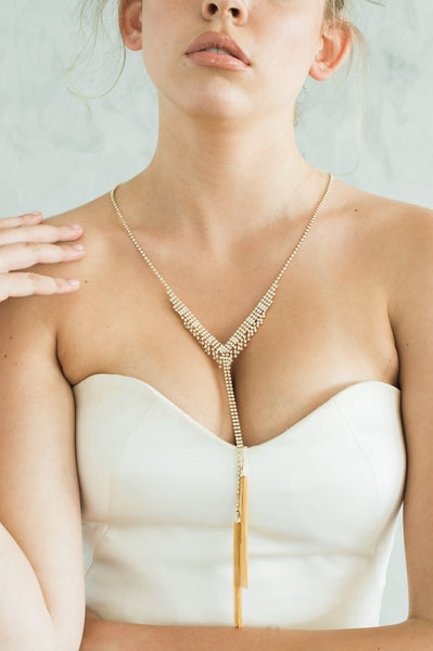 CAROLINE NECKLACE- GOLD