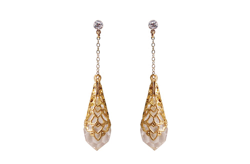 LUCIA EARRINGS- GOLD