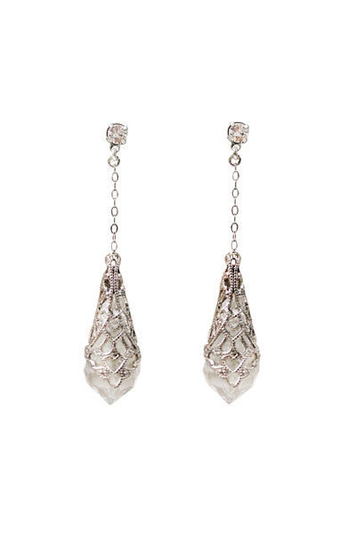 LUCIA EARRINGS- SILVER