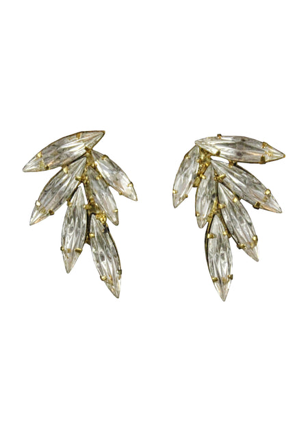 OLEANDER EARRINGS - GOLD