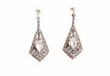 AGNES EARRINGS - SILVER