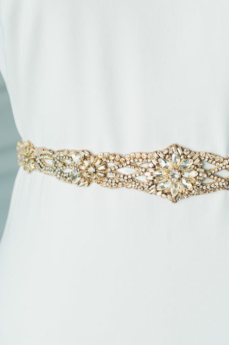 BRIENNE CHOKER - GOLD