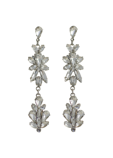 GRACE EARRINGS- SILVER