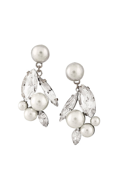 ODETTE EARRINGS- SILVER