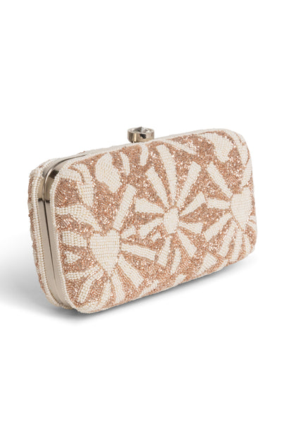 ELSBETH CLUTCH- BLUSH