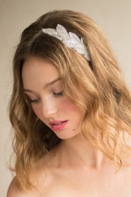 DAVINA HEADPIECE - SILVER