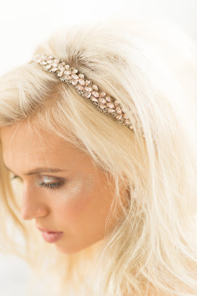 SUMMER HEADBAND- BLUSH