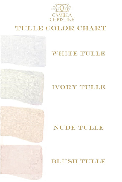 TULLE FABRIC SWATCH