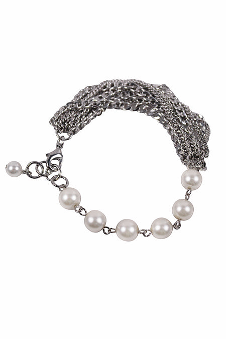CAROLINE NECKLACE- SILVER