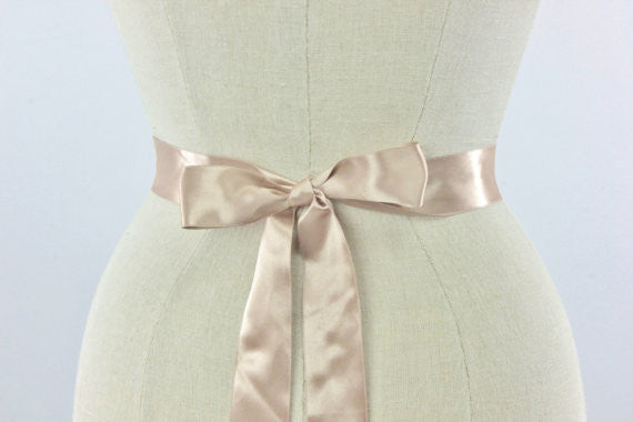 FLORA SASH- ROSE GOLD