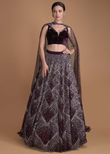 Beautiful Exclusive Designe The Damiti Lehenga-Bridal Lehenga Store