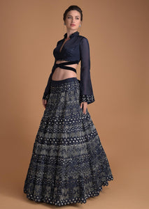 Beautiful Exclusive Designe The Lavali Lehenga-Bridal Lehenga Store