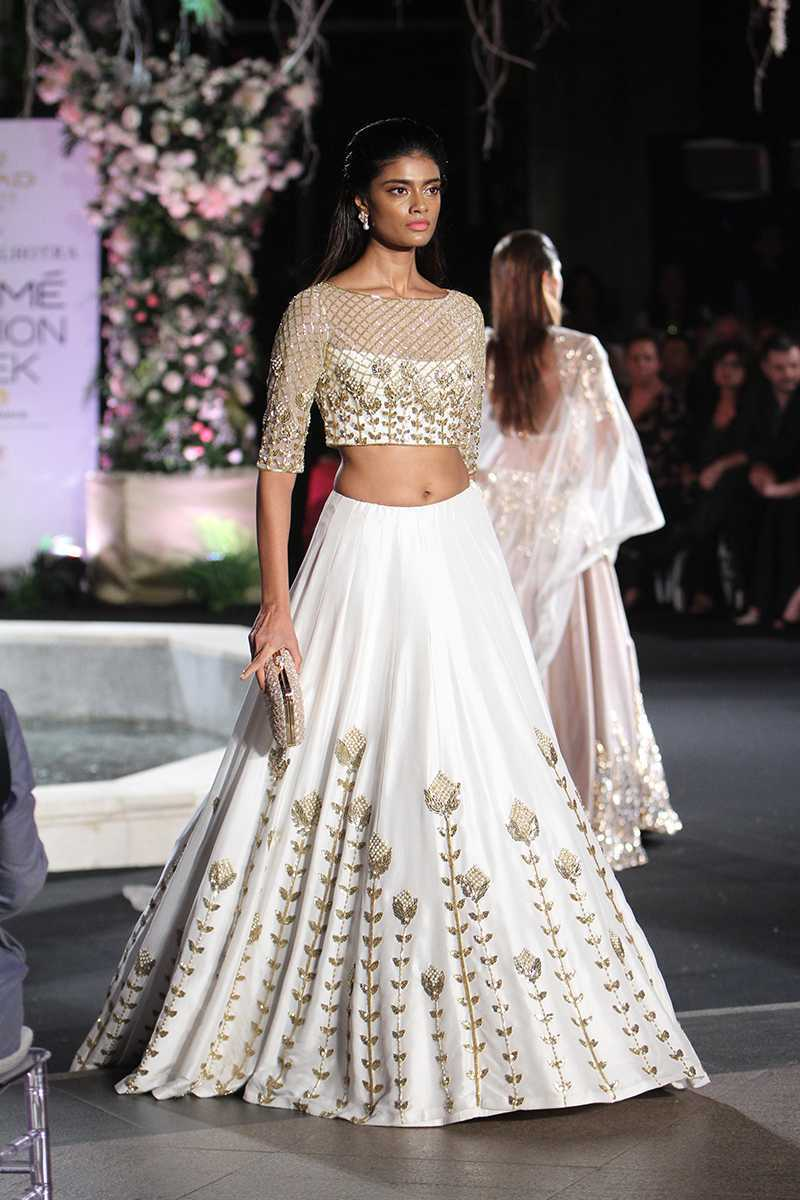 Beautiful Designer White Color Party Wear Lehenga Choli-Bridal Lehenga Choli