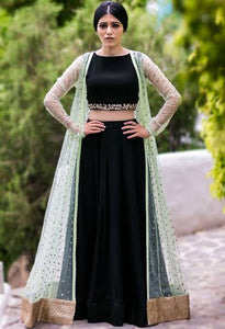Exclusive lehenga choli with shrug CMN056