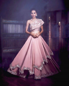 Beautiful layered lehenga and choli CMN012