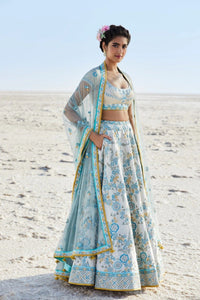 Beautiful Exclusive Designe Aurora Lehenga-Bridal Lehenga Store