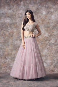 Beautiful Designer Light Purple Color Party Wear Lehenga Choli-Bridal Lehenga Store