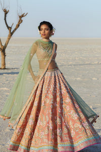 Beautiful Exclusive Designe Luna Lehenga-Bridal Lehenga Store