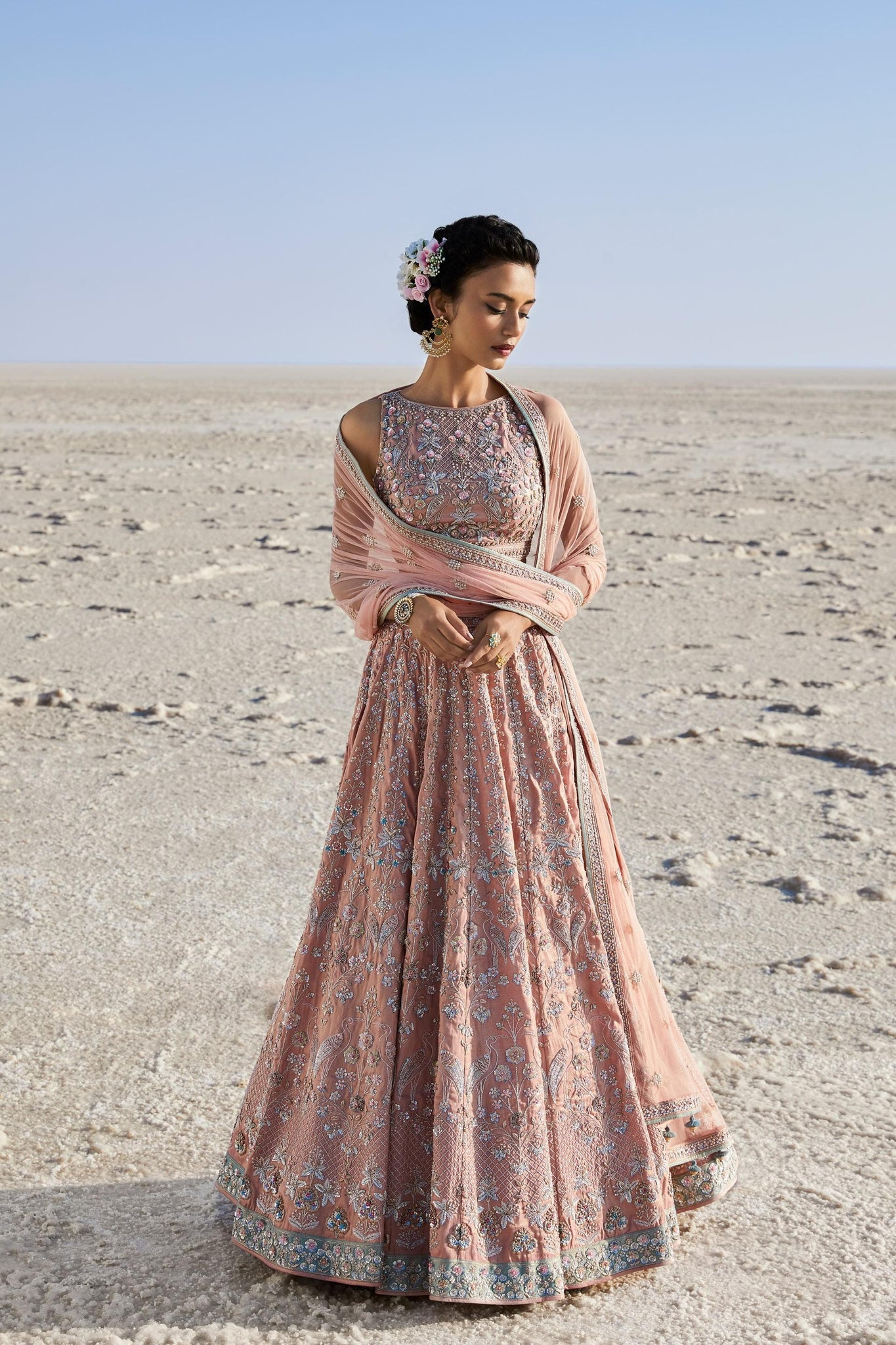 Beautiful Exclusive Designe Damia Lehenga-Bridal Lehenga Store