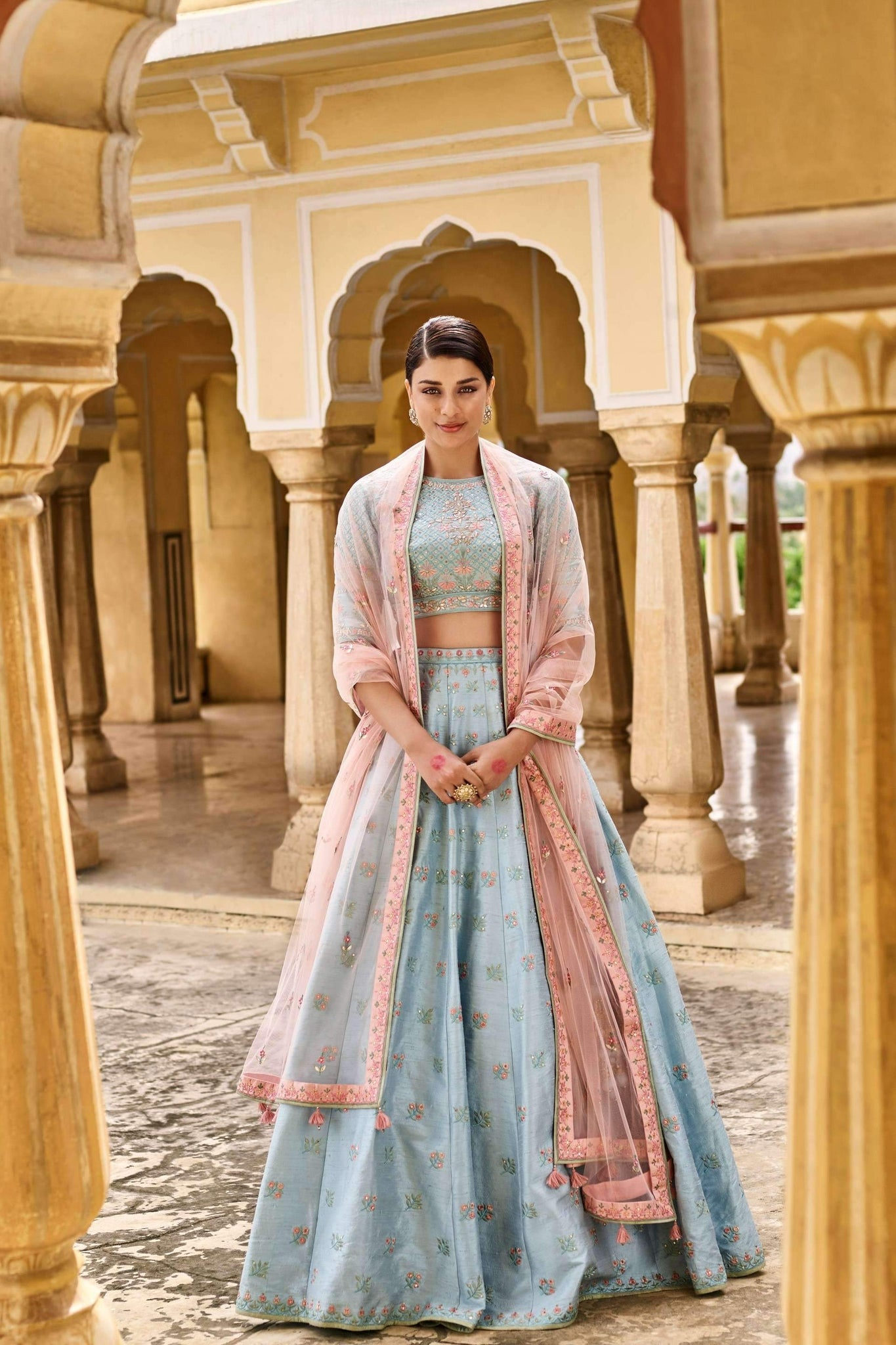 Beautiful Exclusive Designe Sahra Lehenga-Bridal Lehenga Store