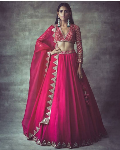 Beautiful Designer Pink Lehenga Choli CMN008