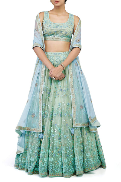 Beautiful Exclusive Designe The Sanaubar Lehenga-Bridal Lehenga Store