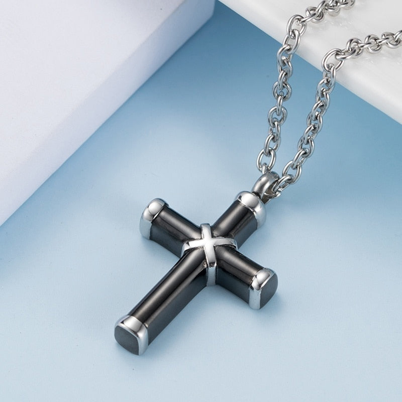 Cross Necklace 316L Stainless Steel