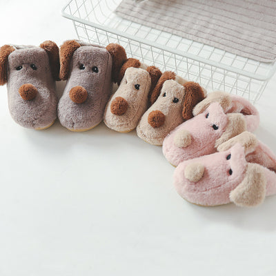 COCO™ Lovely Dog Fur Slippers