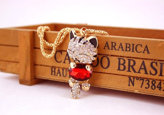 Purr Lovely Cat Necklace
