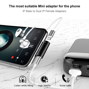 Baseus Aux Audio & Charge Splitter for iPhone