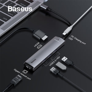 Baseus 6in1 HUB Adapter USB 3.0