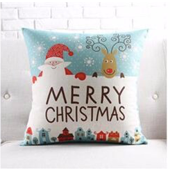 Christmas Cushion Pillow (FILLING INCLUDED)