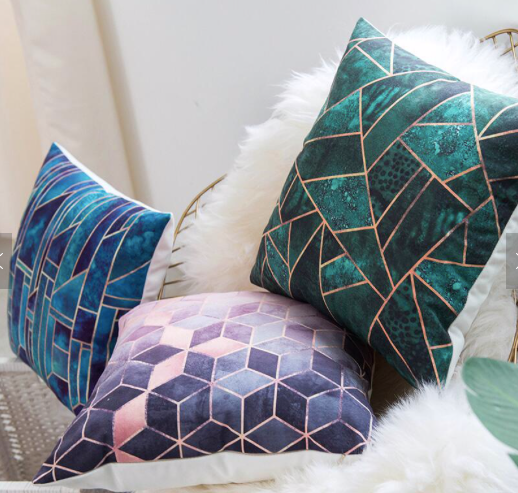 Decorative Cushion Pillows (FILLING INCLUDED) - The Jardine Store