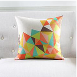 Diamond Cut Decorative Cushion Pillows (FILLING INCLUDED) - The Jardine Store