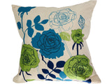 Fashion high quality Plain Pattern Linen Cushion Pillow (FILLING INCLUDED) - The Jardine Store