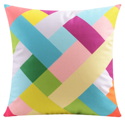 Modern Design Luxury Velvet Cushion Pillow Double Sided Print (FILLING INCLUDED) - The Jardine Store