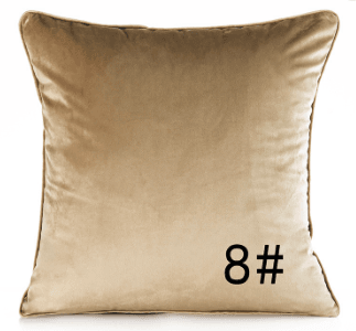 Modern Velvet Pillow Cushions (FILLING INCLUDED) - The Jardine Store