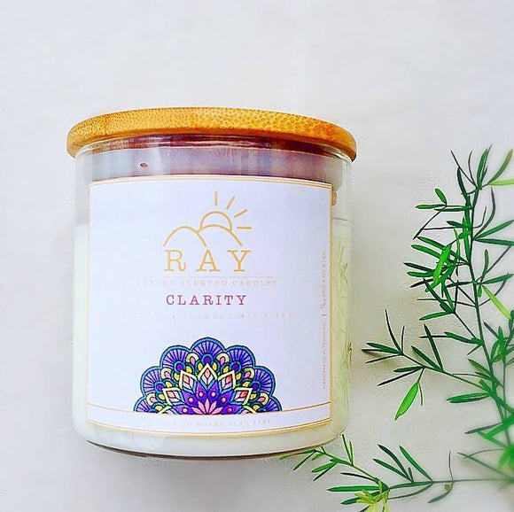 RAY Scented Candle - CLARITY - The Jardine Store