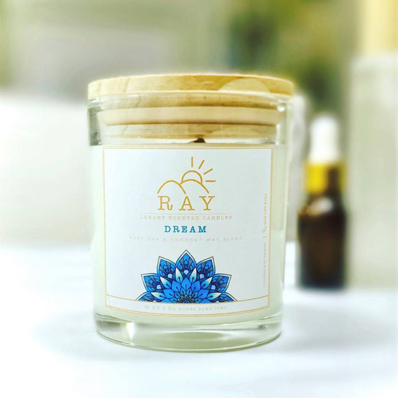 RAY Scented Candle - DREAM - The Jardine Store
