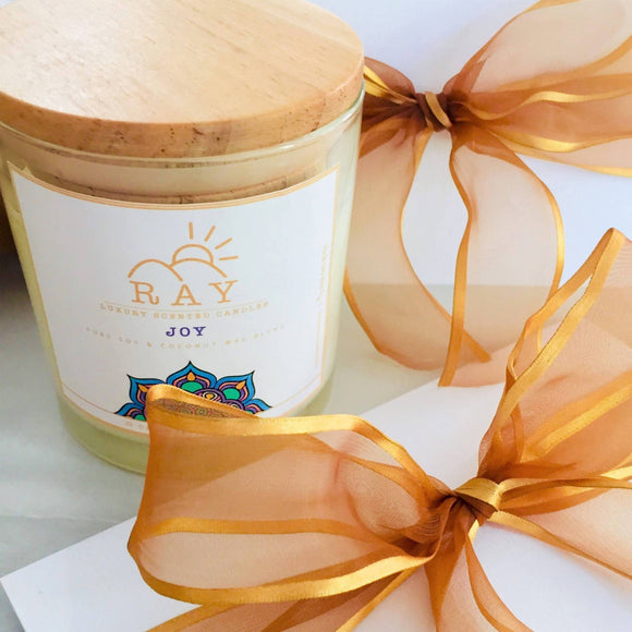 RAY Scented Candle - JOY - The Jardine Store