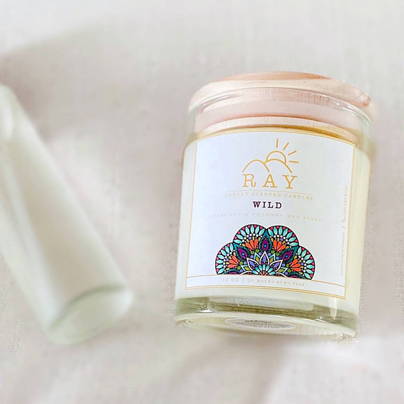 RAY Scented Candle - WILD - The Jardine Store