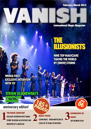 VANISH Magazine February/March 2013 - The Illusionists eBook DOWNLOAD