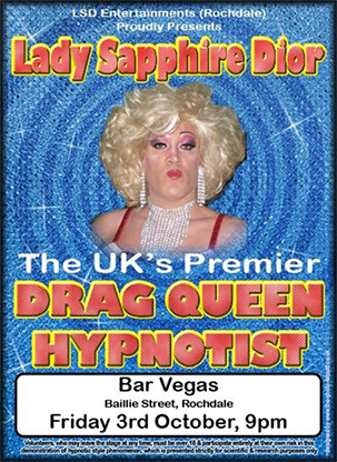 Drag Queen Comedy Stage Hypnosis Course by Jonathan Royle & Lady Sapphire Dior Mixed Media DOWNLOAD
