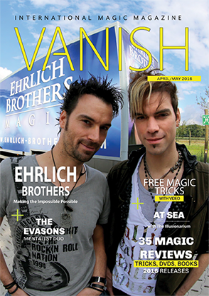 VANISH Magazine April/May 2016 - Ehrlich Brothers eBook DOWNLOAD