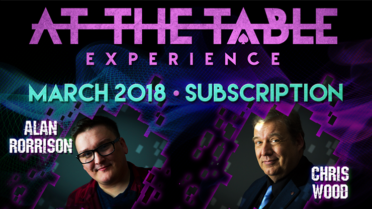 At The Table March 2018 Subscription video DOWNLOAD
