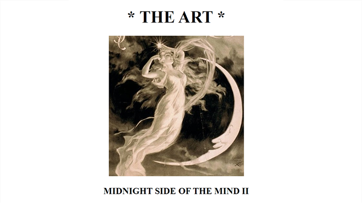 The Art: Midnight Side of the Mind II by Paul Voodini eBook DOWNLOAD